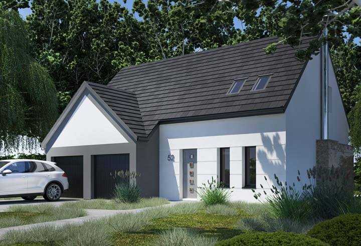 Modèle et plan de maison Habitat Concept n°52