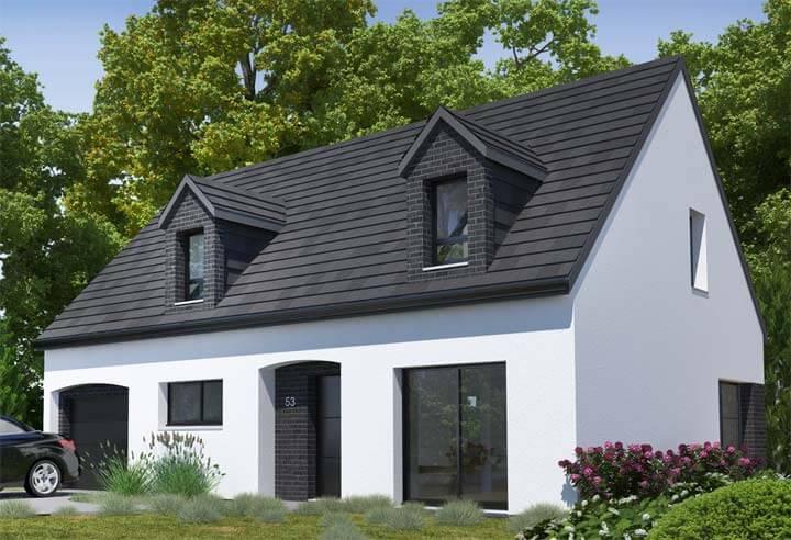 Modèle et plan de maison Habitat Concept n°53