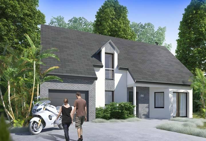 Modèle et plan de maison Habitat Concept n°66