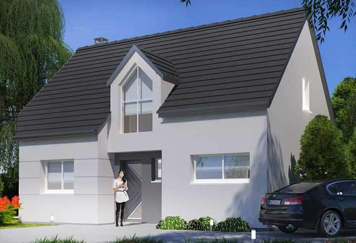 Modèle et plan de maison Habitat Concept n°74