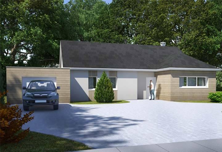 Modèle et plan de maison Habitat Concept n°78