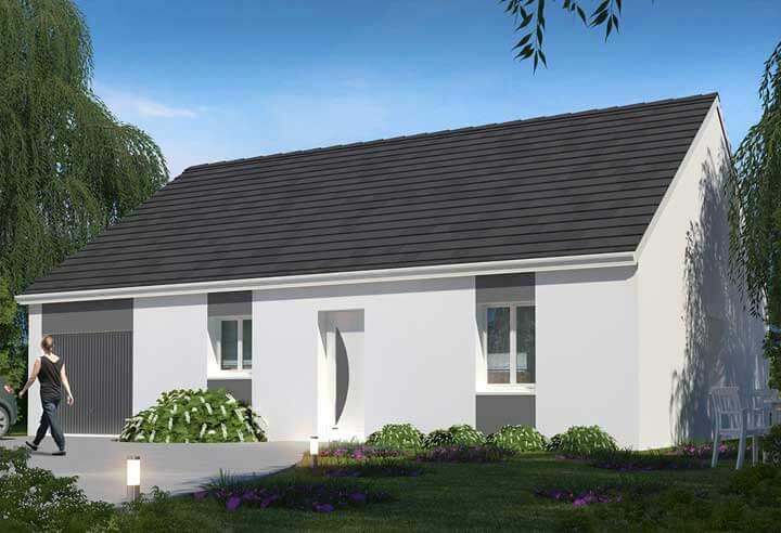 Modèle et plan de maison Habitat Concept n°90