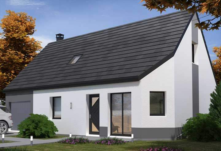 Modèle et plan de maison Habitat Concept n°95