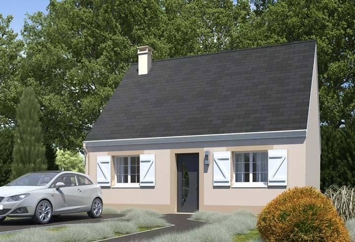 Plan maison 1 chambre Résidence Picarde 96
