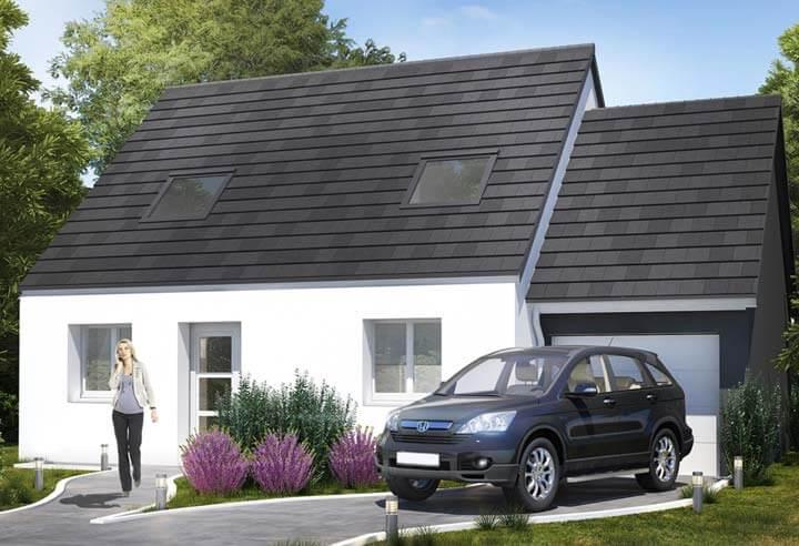 Modèle et plan de maison Habitat Concept n°98