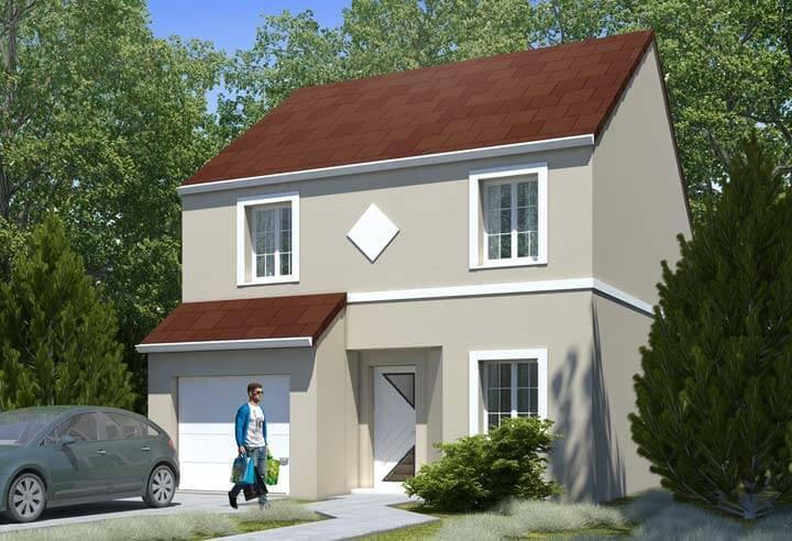 Plan maison 4 chambres HC 99B
