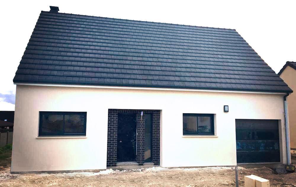 Construction d'une maison à Ailly-sur-somme (80) en Décembre 2015