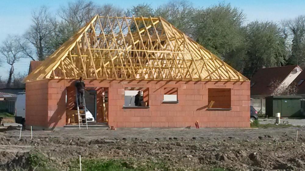 Construction d'une maison à Calais (62) en Septembre 2015