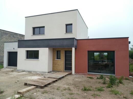 Construction d'une maison à Coisy (80) en Avril 2016