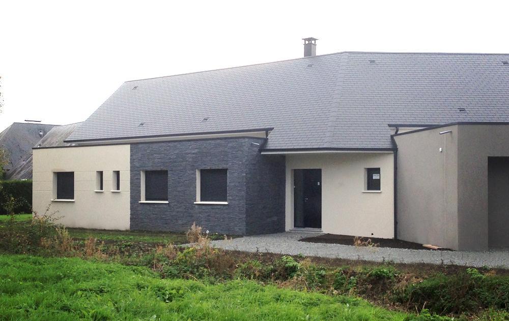 Construction d'une maison à EMIEVILLE (14630)