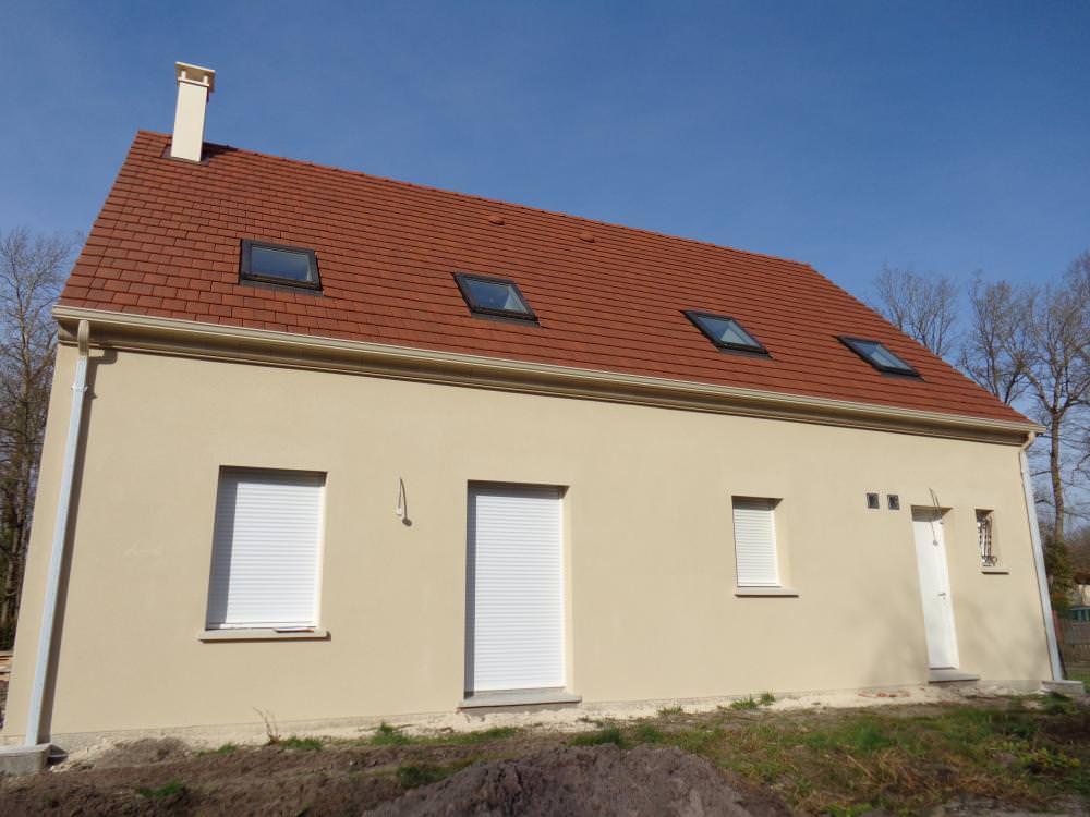 Construction d'une maison à Fere-en-tardenois (02) en Mars 2014