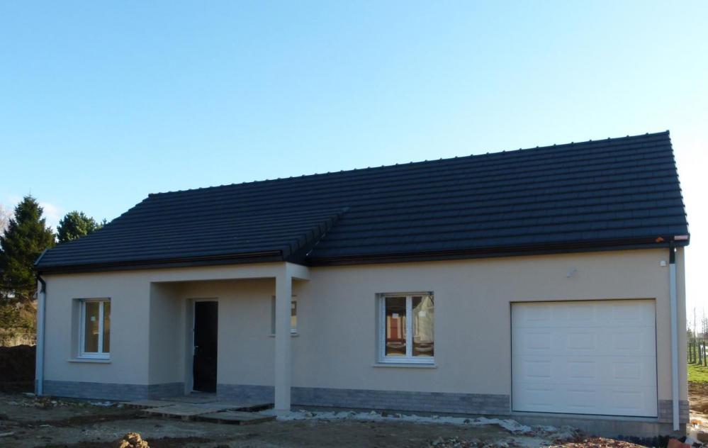 Construction d'une maison à Fresnoy-folny (76) en Février 2017