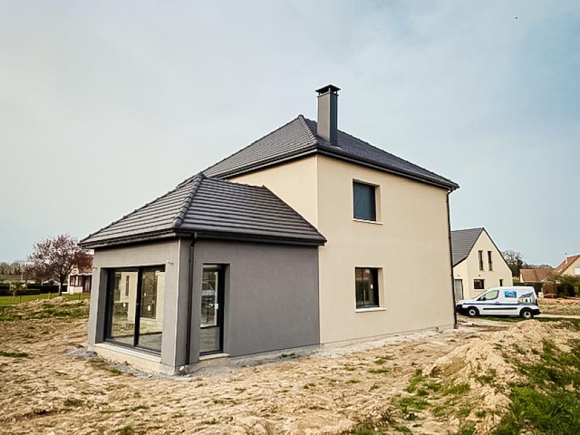 Construction d'une maison à Gommerville (76430)