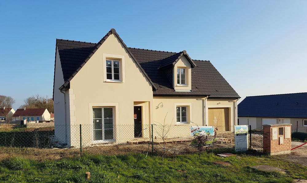 Construction d'une maison à Grandfresnoy (60) en Mars 2017