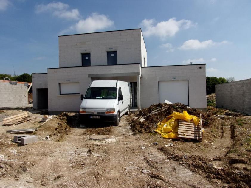 Construction d'une maison à Guignemicourt (80) en Décembre 2014