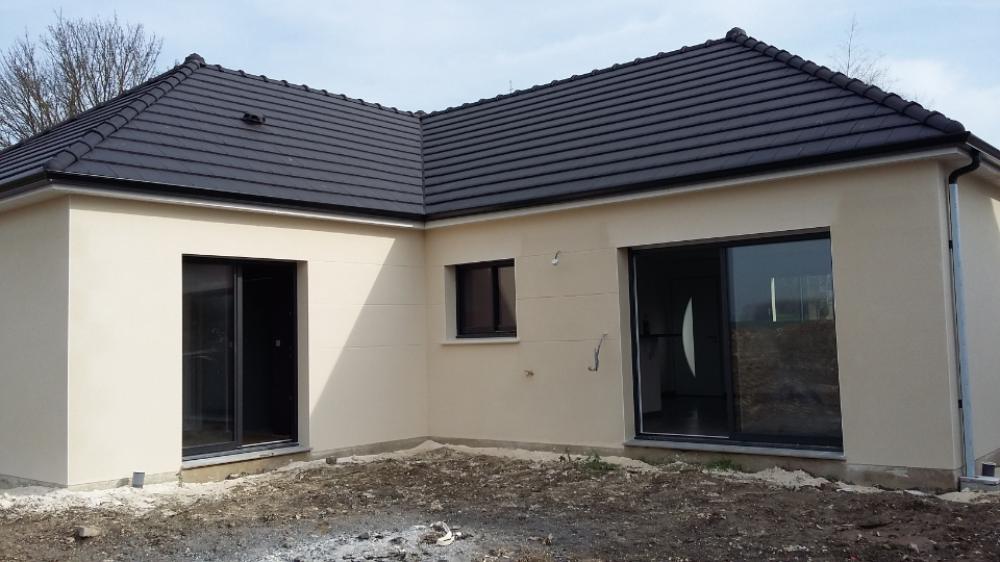 Construction d'une maison à Molliens-au-bois (80) en Mars 2016