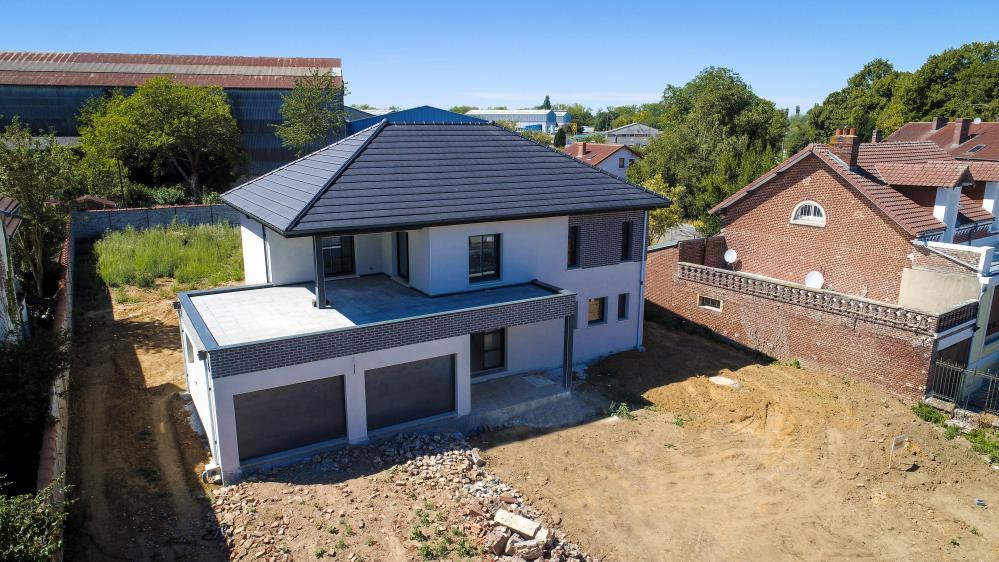 Construction d'une maison à Peronne (80) en Aout 2020