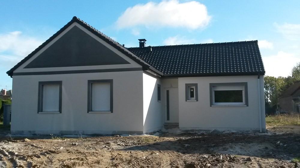 Construction d'une maison à Queant (62) en Novembre 2014