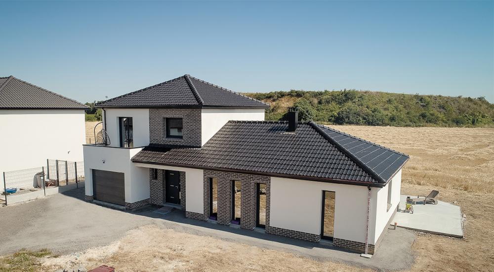 Construction d'une maison à Vermelles (62) en Juillet 2019